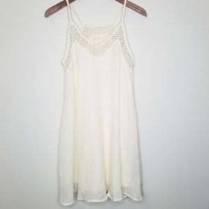 H&M | Cream Crochet Dress